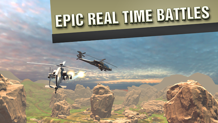 VR Battle Helicopters- screenshot