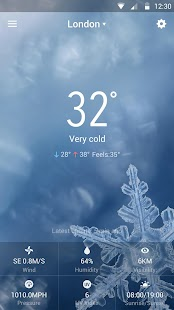 iWeather-The Weather Today HD for PC-Windows 7,8,10 and Mac apk screenshot 5