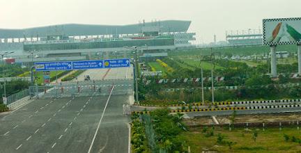 Photo: Die Formel 1 Strecke in Indien, wir waren 2 Wochen zu früh