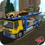 Army Truck Transporter Icon