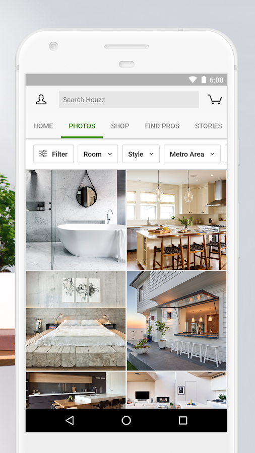 Houzz interior design ideas android apps on google play for Interior design application