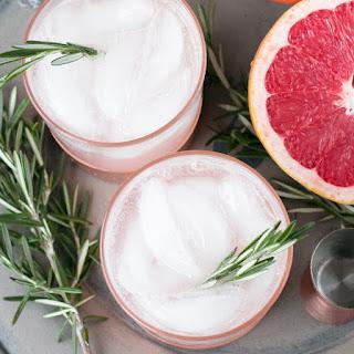 Rosemary Grapefruit Gin Fizz Recipe