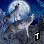 Angry Wolf Simulator 3D Icon
