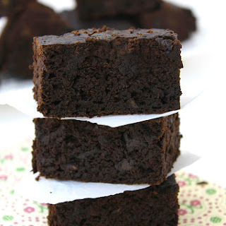 Gluten-Free Black Bean Brownies.