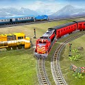 New Train Racing Game 2021 –Offline Train Games 3D icon