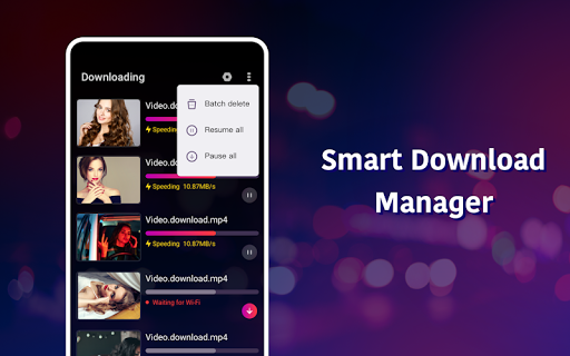 BOX Video Downloader: private download video saver android2mod screenshots 13