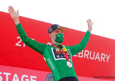 """Jong talent maakt indruk in de UAE Tour en wil puntentrui mee naar Nederland nemen: """"Het is zeker een doel"""""""