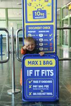 Photo: Santiago airport