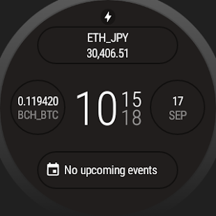 Chitose.  A crypto currency prices viewer on wear- screenshot thumbnail