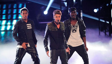 """Photo: THE VOICE -- Episode 215B """"Live Show"""" -- Pictured: Justin Beiber -- (Photo by: Lewis Jacobs/NBC)"""