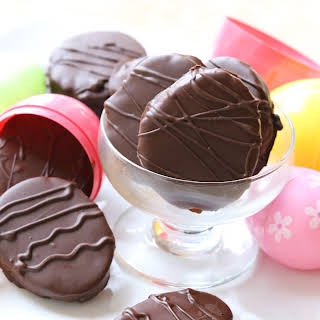 Cookie Dough Easter Eggs.
