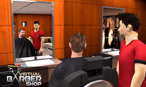 Virtual Barber Shop Hair Salon Beard Shave Games 1.0.5 screenshots 3