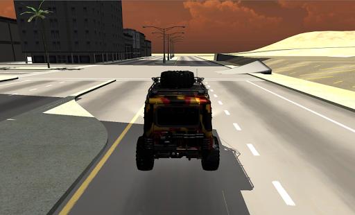 UAZ УАЗ вне дорожные гонки 3D