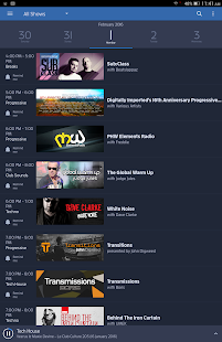 Digitally Imported Radio- screenshot thumbnail