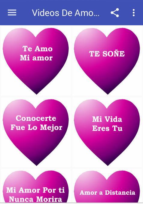 Videos De Amor Para Enamorados Android Apps On Google Play