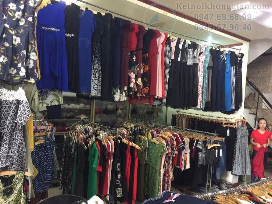 thiết kế shop thời trang nam nữ diện tích rộng tới 110m2