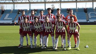 El once del filial que se jugó ante el CD El Ejido.
