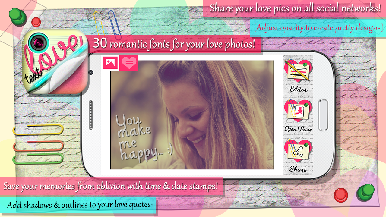Photo Editor With Love Quotes Love Text Pics  Photo Studio  Android Apps On Google Play