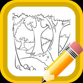 Как нарисовать декорации