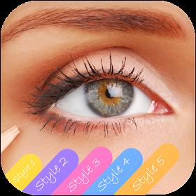 смены цвета глаз - Eyes Color Changer Camera