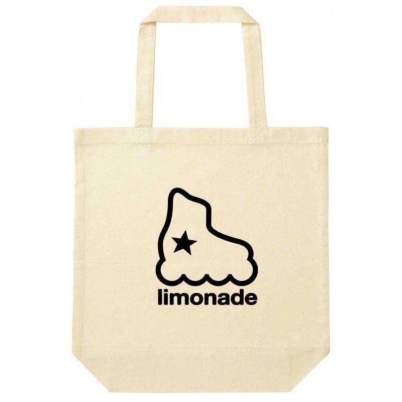 limoaade skateのロゴ入りトートバッグ