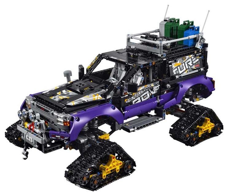 Contenido de Lego® 42069 Aventura Extrema