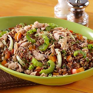 Crunchy Quinoa Tuna