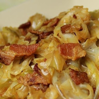 Fried Cabbage with Bacon,Onion, and Garlic- Best weight loss program