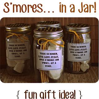 Smores in a Jar! {Fun Gift Idea} Recipe