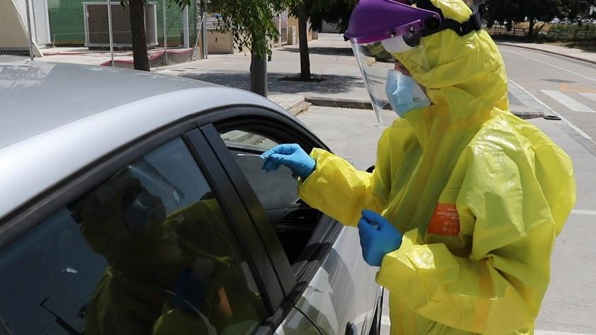 En Almería se han confirmado 451 casos por PCRlos últimos 14 días.