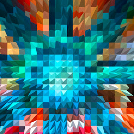 by Abdul Rehman - Digital Art Abstract