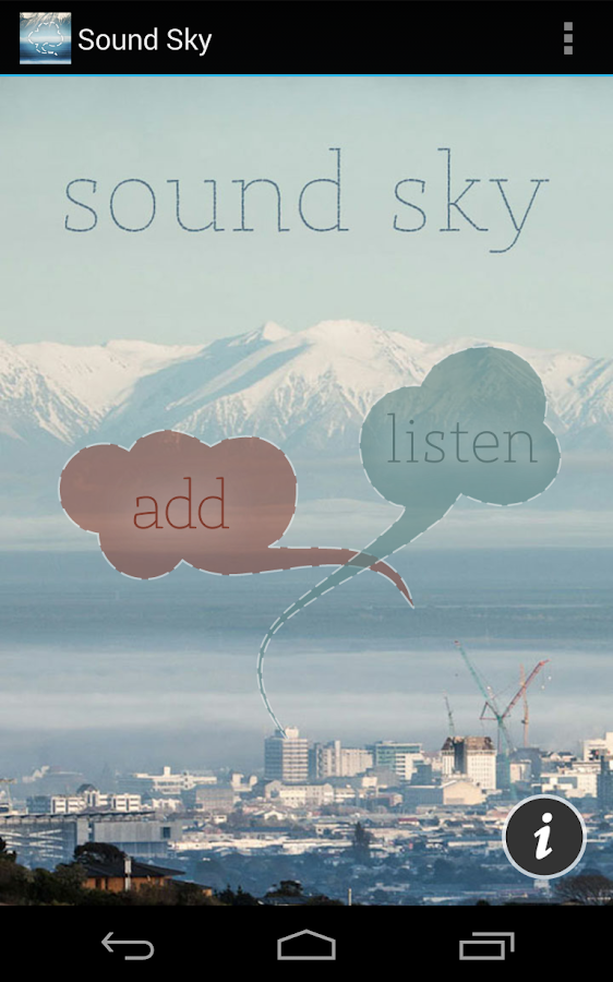 Sound Sky- screenshot