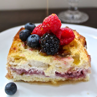 Berry Stuffed French Toast