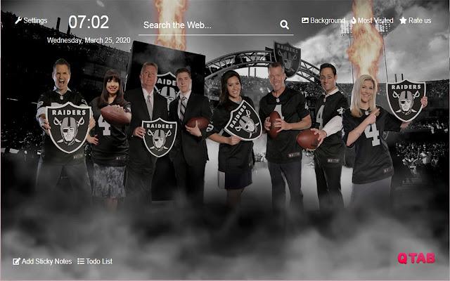 Las Vegas Raiders Wallpapers New Tab Hd