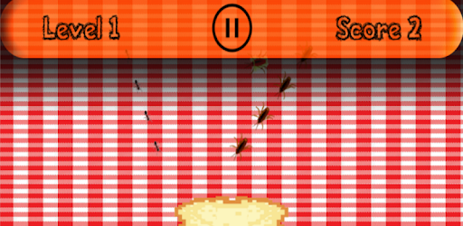 Bugs want your sandwich; smash them all to before they eat it whole!