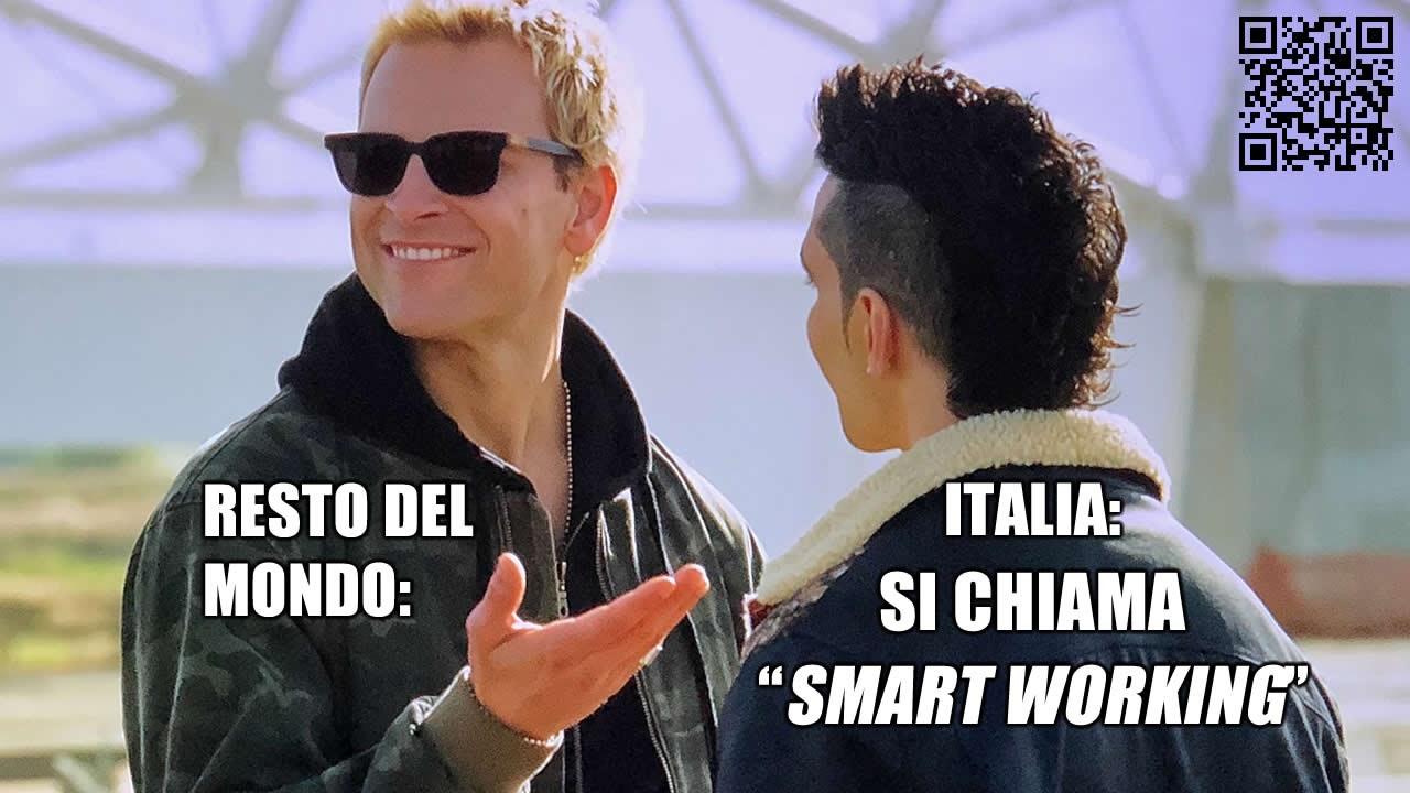 Smart Working: Italia vs Resto del Mondo