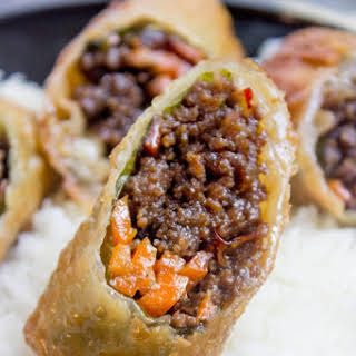 Ground Beef Egg Rolls Recipes.