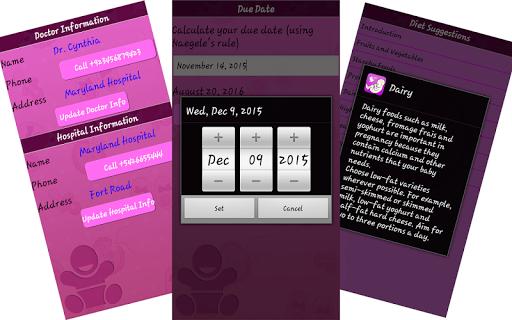 Pregnancy Guide screenshot