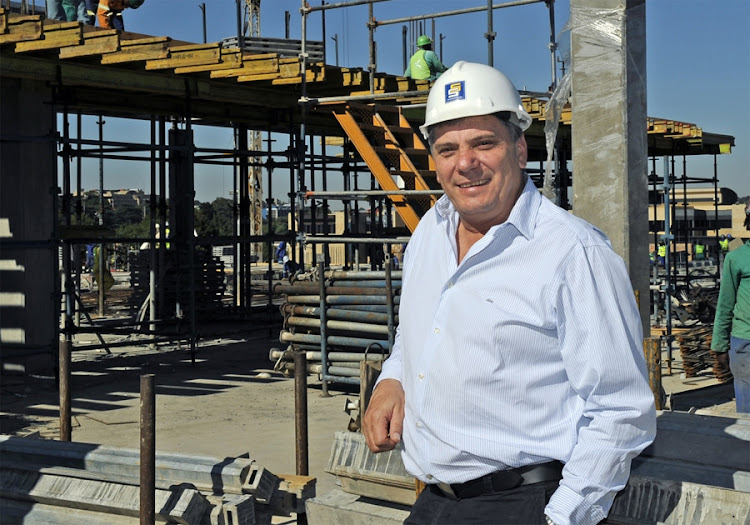 Stefanutti Stocks CEO Willie Meyburgh. Picture: FINANCIAL MAIL