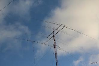 Photo: Antenas: 2el para 40 metros + Force 12 C3 para 10-15-20