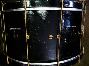 Photo: Big old bass drum (Thanks Mike!)  it needs some help