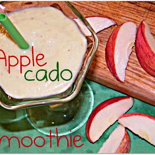 Applecado Smoothie.