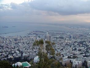 Photo: View of Haifa from the hotel room balcony