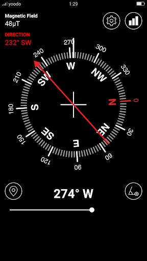 Screenshot for Digital Compass in Hong Kong Play Store