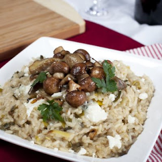 Appetizing Crockpot Mushroom And Rice