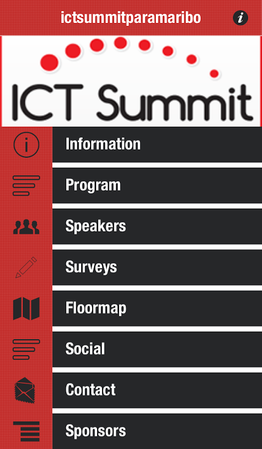 ictsummitparamaribo- screenshot