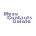 Mass Contacts Delete icon
