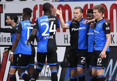 Le Club de Bruges récupère deux cadres juste avant les playoffs