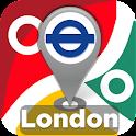 London Tube & Rail Map icon