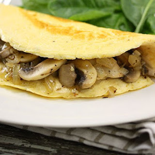 Low Calorie Mushroom Omelette Recipes.